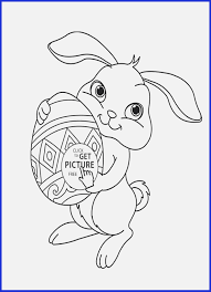 Easter Printables Coloring Pages Cute Easter Bunny Coloring Pages