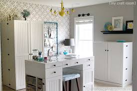 Organization Tips For Small Spaces  HometalkDesign Craft Room