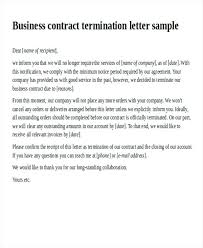 Letter Of Agreement Samples Template Custom Sample Letter Termination Tenancy Agreement Landlord Rmination Letr