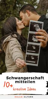 Schwangerschaft Verkünden Ideen Für Partner Famile Arbeitgeber