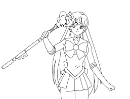 Small Picture Sailor Pluto Coloring Pages Bucket User Bebo Pandco