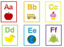 Alphabet flashcards view flashcard video. 26 Printable Alphabet Flash Cards Full Color Flash Cards Etsy