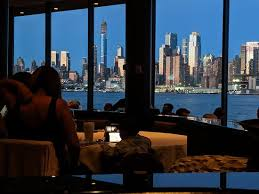 View From Our Table Picture Of Chart House Weehawken