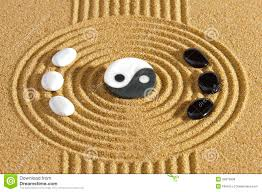 Small Picture how to design a ying yang garden Japanese zen garden with stones