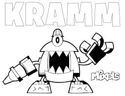 Small Picture mixel coloring page kramm Lego Mixels Pinterest Lego