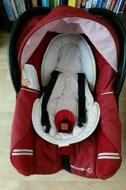 bebe confort car seat owned from new good condition inc small baby inserts in base warmer