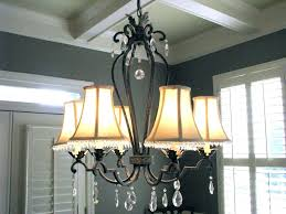 chandelier drum shade crystal lamp shades for chandeliers small glass
