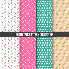 Pattern Collection Classy Geometric Pattern Collection Vector Free Download