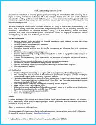 Cover Letter For Chief Of Staff Position Internal Audit Cover Letter New An Resume Is Quite Important Senior