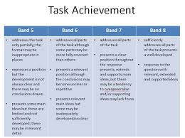 image task task achievement in writing task category in page this post explains the difference between ielts writing test band 5 and band 8 task 2 answers get the score you deserve in writing task