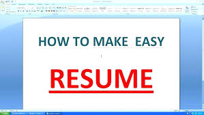 how to create a resume on microsoft word 2007 how to make a resume on word 2007 how to make a resume on word