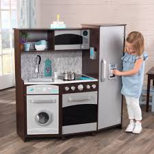 Large Play Kitchen with Lights & Sounds - Espresso ...