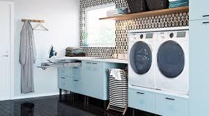 Armoire a rideau coulissant pour lave linge. La Buanderie A La Maison 27 Idees D Amenagement Pratique