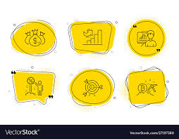 Target Check Investment And Growth Chart Icons