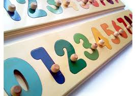 wooden puzzle numbers educational puzzles