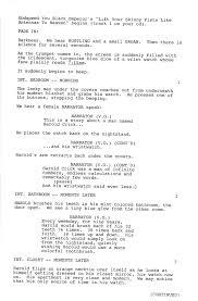 Movie Script Example Sample Movie Scripts Rome Fontanacountryinn Com