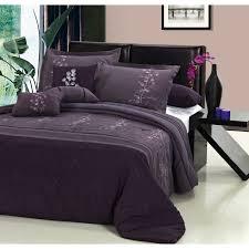 interior attractive plum colored bedding 16 contemporary