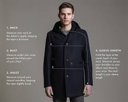 Mens Clothing Size Chart
