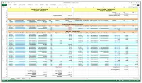 Accounting Ledger Templates 5 General Ledger Templates Word Excel Pdf Templates