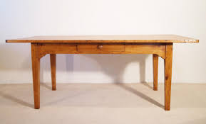 Pine Farmhouse Kitchen Table All Antique Furniture