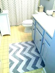 grey bathroom rugs yellow and gray chevron bath rug sets white grey bath rugs