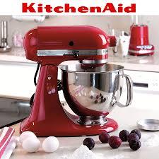 kitchenaid artisan stand mixer set empire red