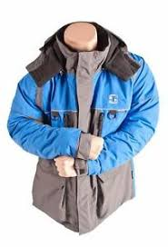 Details About Striker Ice Predator Jacket Gray Blue L Large 115124 Floating Ice Fishing
