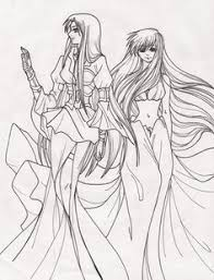 Manga Coloring Pages Bestofcoloringcom