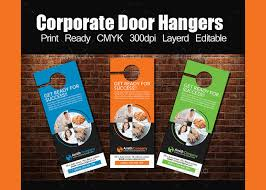 real estate door hanger templates. This Is A Print Ready Modern Style Corporate Door Hanger Template. You Can Use It For Any Business Such As Real Estate, Restaurant, Travel, Gym Etc\u2026 Estate Templates !