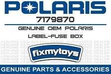 fuse box in atv parts 7179870 oem polaris label fuse box