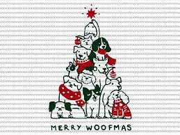 Christmas themed svg files for using with your electronic cutting machines, terms of use can be found within your downloads or by clicking here. Merry Woofmas Svg Merry Woofmas Christmas Dog Fan Svg Png Dxf Eps File Vector T Shirt Design For Commercial Use Buy T Shirt Designs