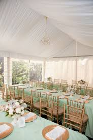 Mint Green Wedding Reception