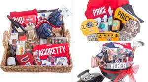 montreal opening auction for baskets put together by players