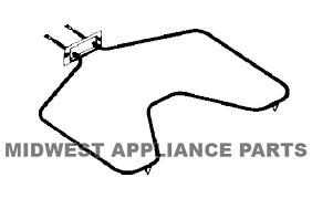 stove heating element. ge range oven bake heating element wb44x5082 wb44x5061 stove e