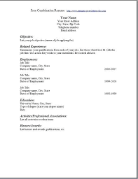 Example Of Simple Resume Format Best Sample Resume Format Blank For