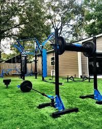 backyard gymnastics