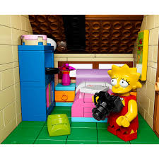 Lego Bedroom Furniture Lego The Simpsons House Play Set Walmartcom