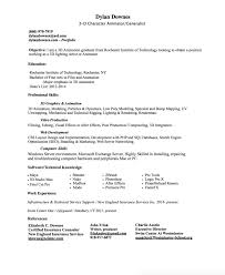 Animator Resume books for creative writing in english sample of application letter 74