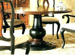 48 inch round pedestal dining table awesome timeless based with four