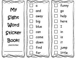 Pre Primer Dolch My Sight Word Mastery Books Dolch Words Pre Primer Through 3rd