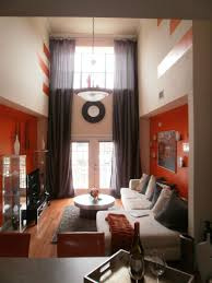 Two Story Living Room Curtains Rooms Viewer Hgtv