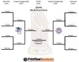 2009 Mlb Playoff Bracket World Series Results