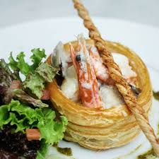 Seafood vol au Vent ...