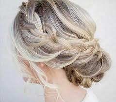 Image Modele De Coiffure De Mariage Pour Cheveux Mi Long