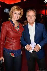Semi-exclusif - Fabien Lecoeuvre et sa compagne Anne Richard - Arrivées des  people pour les adieux de la chanteuse Isabelle Aubret sur la scène de  l'Olympia à P - Purepeople