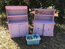 cubby house furniture. KIDS CUBBY HOUSE FURNITURE TIMBER KITCHEN CABINET Cubby House Furniture