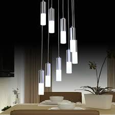 modern led chandelier lighting dining room fixture diy simple lamp modern led chandeliers