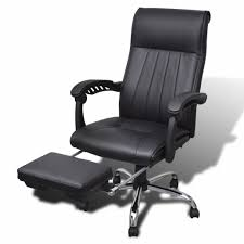 adjustable office chairs. Black Artificial Leather Office Chair With Adjustable Chairs A