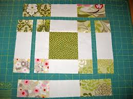 Disappearing 9 patch variation block with charm squares | Patches ... & Disappearing 9 patch variation block with charm squares. Charm Square  QuiltCharm ... Adamdwight.com