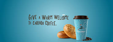 einstein bros bagels and caribou coffee together in one place so you can get it together